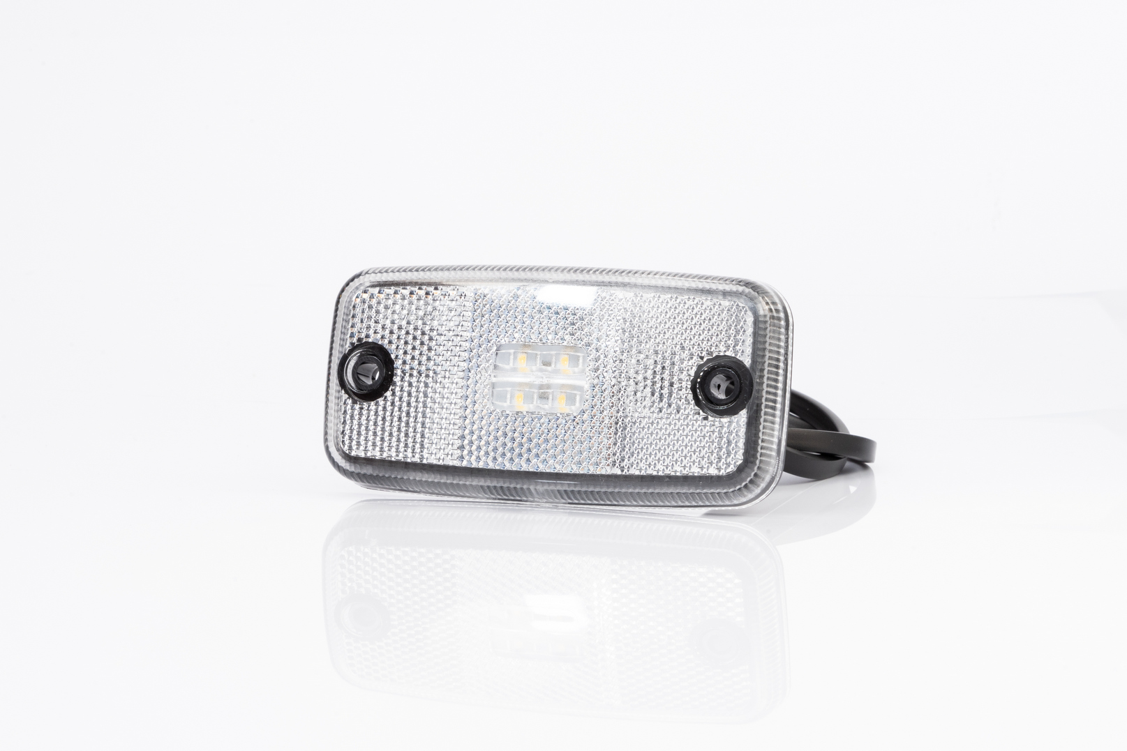 Pozička  FT-019 LED čirá 12/24V
