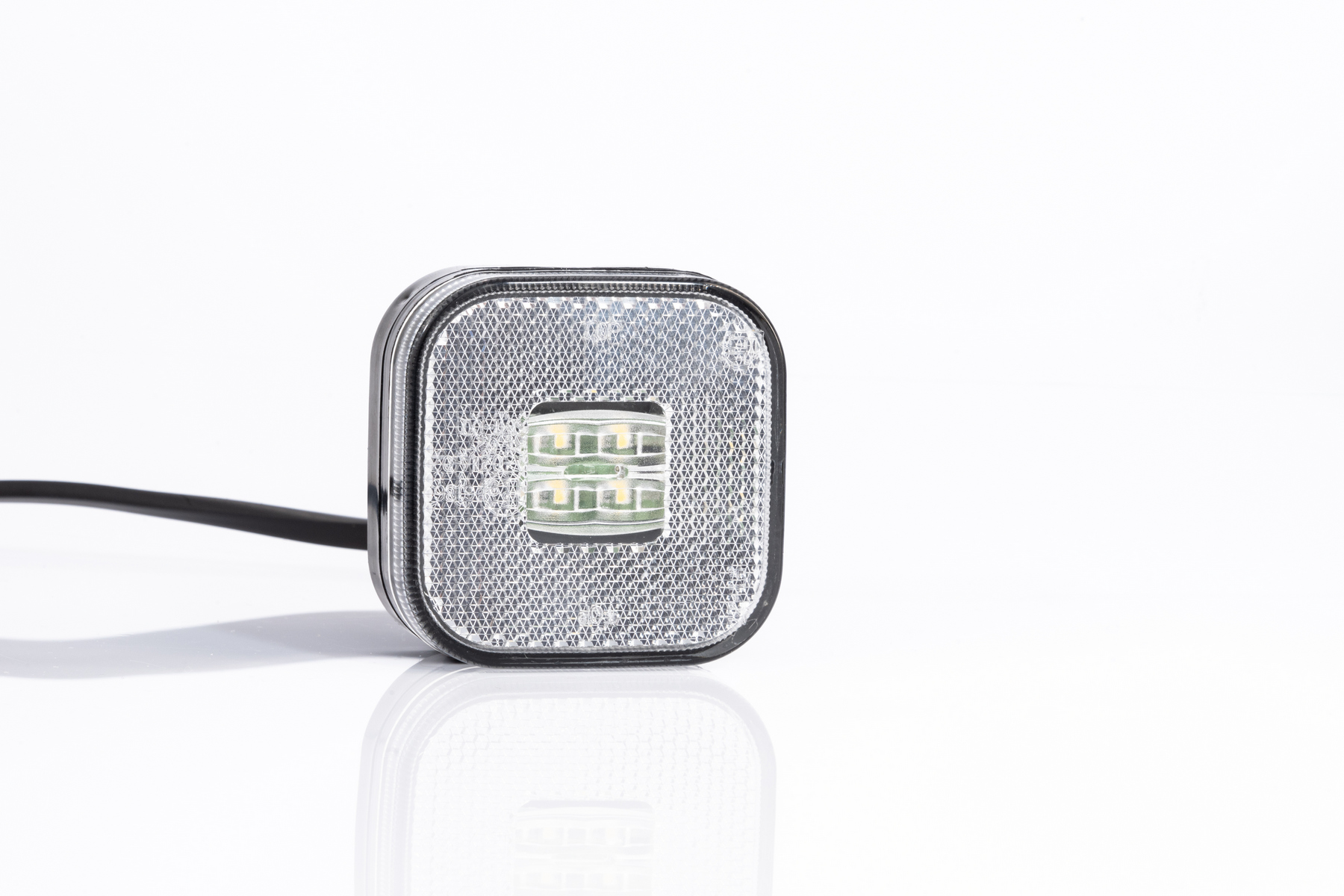 Pozička FT-027 LED čirá 12/24V