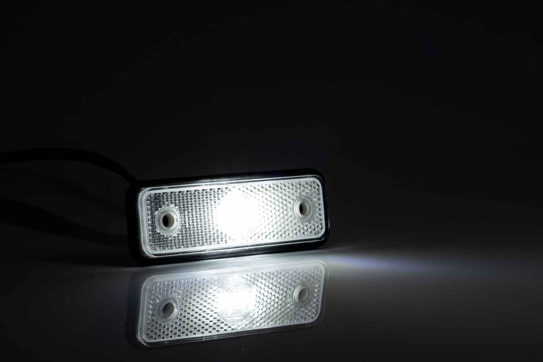 Pozička FT-004 LED čirá 12/24 V